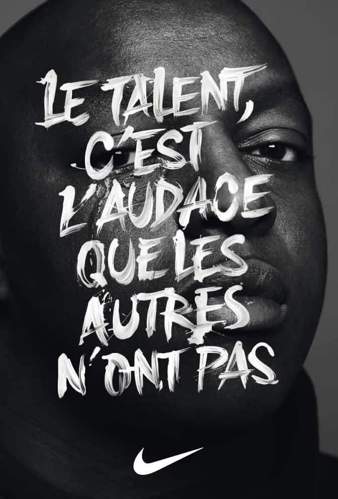 Le talent, c'est l'audace que les autres n'ont pas.
